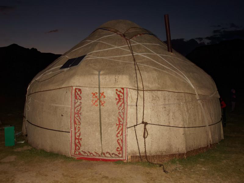 kirgisische Jurte, Song Köl